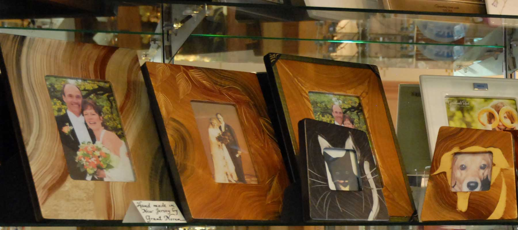 Wood phot frames
