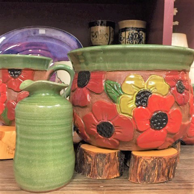 American made handcrafted pottery